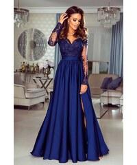 36f5897f5c41 EMO Dámské večerní šaty Leila tmavě modré 38