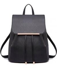 6ac13881d15 Miss Lulu elegantní černý batoh 1669