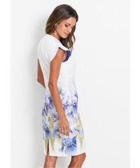 Bílé šaty se vzorem - Glami.cz 57223e5d15