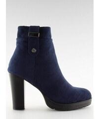 13a1368a5f11c LaraRuby.sk BK3233 Dámske topánky na opätku, tmavo modré