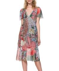 e8ecc510888 Desigual barevné šaty Vest Daria - XS