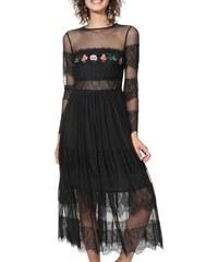 924e22c30a4 Desigual černé šaty Vest Sweet - XS