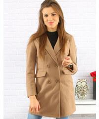 DStreet kabát dámský BEIGE (ny0214) 5aa0f91f01