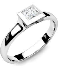iZlato Forever Zásnubný prsteň s diamantom 0 88d96c95c0b