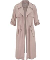 Hailys dámský lehký kabátek na zavazování BETTY růžový c28f796e9a0