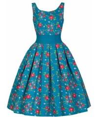 Lindy Bop květované krátké šaty - Glami.cz 9b6ebf5b24