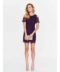 Top Secret dámské krajkové šaty odhalená ramena fialové. 999 Kč 05f470a80f