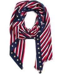 Sál TOMMY HILFIGER - Tommy Selvedge Scarf AW0AW06201 903 d444ae4e2c