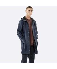 RAINS Modrý vodoodolný kabát Long Jacket XS S 8c8b35bca77