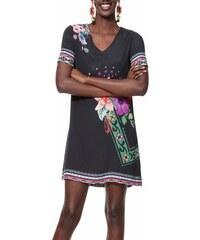 Desigual čierne šaty Vest Barta bbec2b1fb44