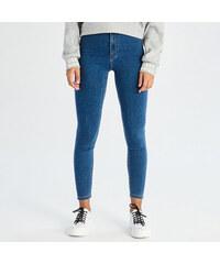 3f4cdfebc60d Sinsay - Džínsy skinny s vysokým pásom - Modrá