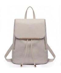 81320e2f4c2 Miss Lulu elegantní světle šedý batoh 1669