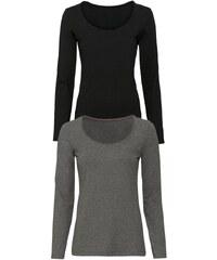 ESMARA Dámské triko s dlouhými rukávy2 kusy e10d212104