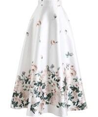 CHICWISH Dámská maxi sukně Fallen Rosa 0fe9816e6f