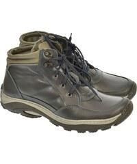 KREZUS Pánske modré kožené topánky CANO 40 64385ba98e1