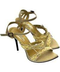 CALISTA Dámske béžové sandále IRES 36 dfc1531387b