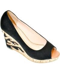 acd2b5649ff1 JOHN-C Dámske čierne sandále MILIS 40