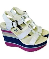 10b7199a6945 Biele Dámske sandále z obchodu John-C.sk