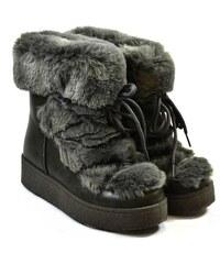 cb4bdc198130a Sivé Zimné Dámske topánky z obchodu John-C.sk - Glami.sk