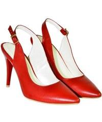 a82572afec4c JOHN-C Dámske červené sandále APERTO 36