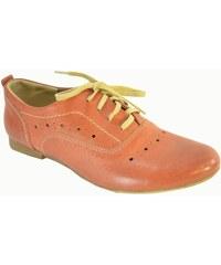 248c14b6b39d Oranžové Dámske topánky z obchodu John-C.sk