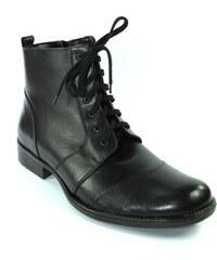 2607102baa Čierne Pánske členkové topánky z obchodu John-C.sk