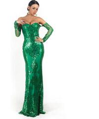 cccbf283fd5d Perfect Společenské šaty se vzory