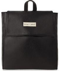 dc7b09bc147 World-Style.cz Klasický dámský batoh lehký městský batůžek - černý