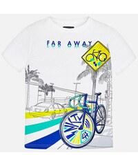 714655c553c2 MAYORAL chlapčenské tričko 6043-083 white