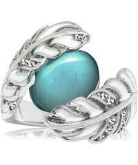 Prsten se Swarovski Elements Saint Francis Crystals Bezel Green 8a9a81ef832