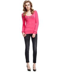 5df448d941e GUESS dámský svetr růžový