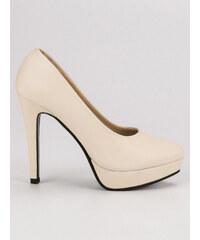 c22de479dcd Shoes World Lodičky s nízkým podpatkem Comfort