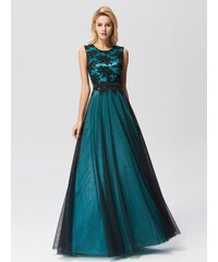 0be870bb390 Ever-Pretty Elegant A Line Sleeveless Long Evening Dress With Appliques