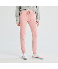 Sinsay - Teplákové nohavice - Ružová 84b97c341aa