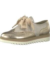 361d763c794 MARCO TOZZI Šněrovací boty béžová   zlatá
