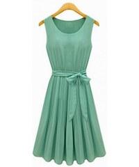 Dámské letní šaty Gaulo zelené - zelená