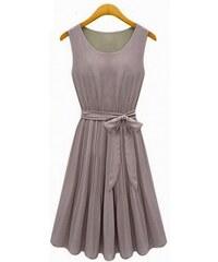 Dámské letní šaty Gaulo šedé - šedá