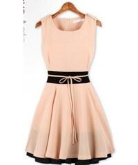 Dámské letní šaty Vilos béžové - béžová