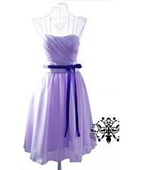 Dámské plesové/svatební šaty Mino - fialová