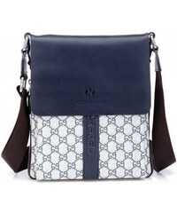 Pánská taška přes rameno Daishu modrá - modrá