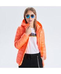 293070f748 Cropp - Prošívaná bunda - Oranžová