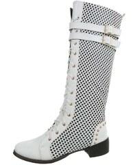 Biele Dámske čižmy a členkové topánky z obchodu Vasa-moda.sk - Glami.sk a659fd8d8ff
