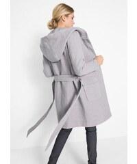 bonprix Teplý kabát z umělé vlny 32bf1ed92e