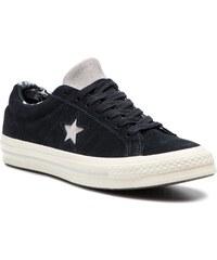 Teniszcipő CONVERSE - One Star Ox 160584C Black Mouse Egret de4b9382a7