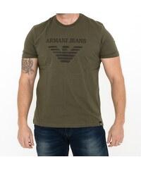 32737bed3c63 Pánské tričko Emporio Armani 15 - khaki