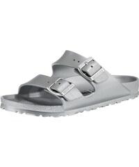 BIRKENSTOCK Pantofle  Arizona  stříbrná 03b2733b68