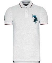 1e6a5726050 Bílá polokošile z prémiové bavlny od U.S. Polo ASSN.