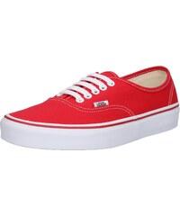 VANS Tenisky  Authentic  červená 9462257a50f