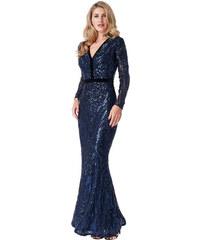 Goddiva Luxusní večerní šaty MIKKA s flitry 3fc68991f1