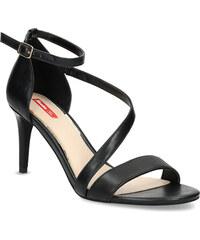 785391d341af Bata Red Label Čierne sandále na ihličkovom podpätku
